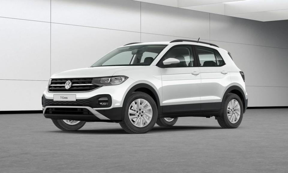 Volkswagen T-Cross, 1l benzīns, 110 Zs, manuālā, 6 ātrumi